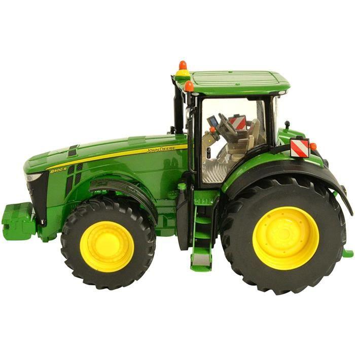 VEHICULE MINIATURE ASSEMBLE ENGIN TERRESTRE MINIATURE ASSEMBLE TOMY BRITAINS - Tracteur John Deere 8400 R pour Adultes 43174, 253
