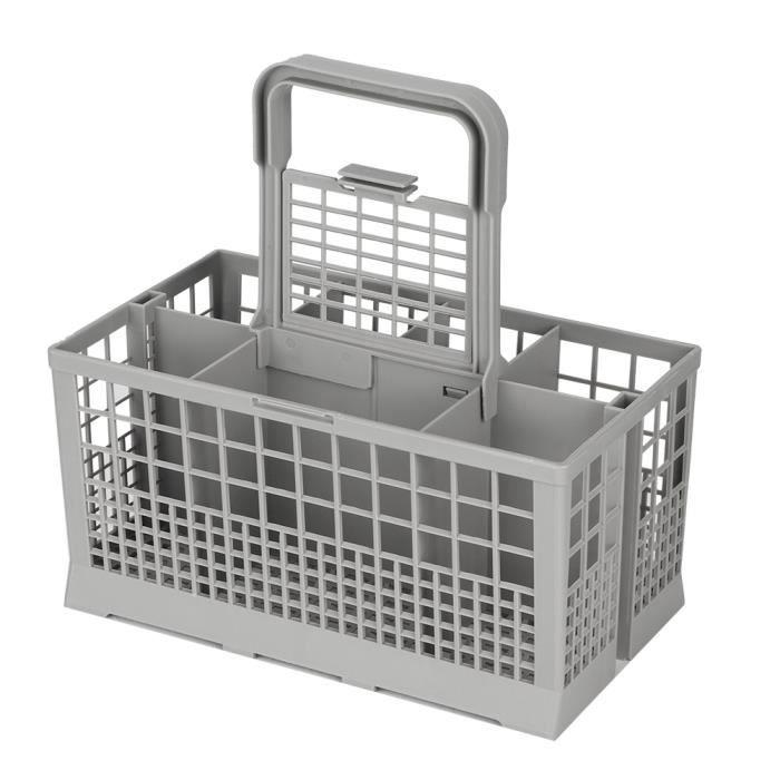 Panier à couverts universel durable, avec panier à couverts à 8 compartiments, ABS ferme pour lave-vaisselle polyvalent