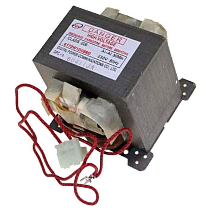 Transformateur - Four micro-ondes - LG (42199)