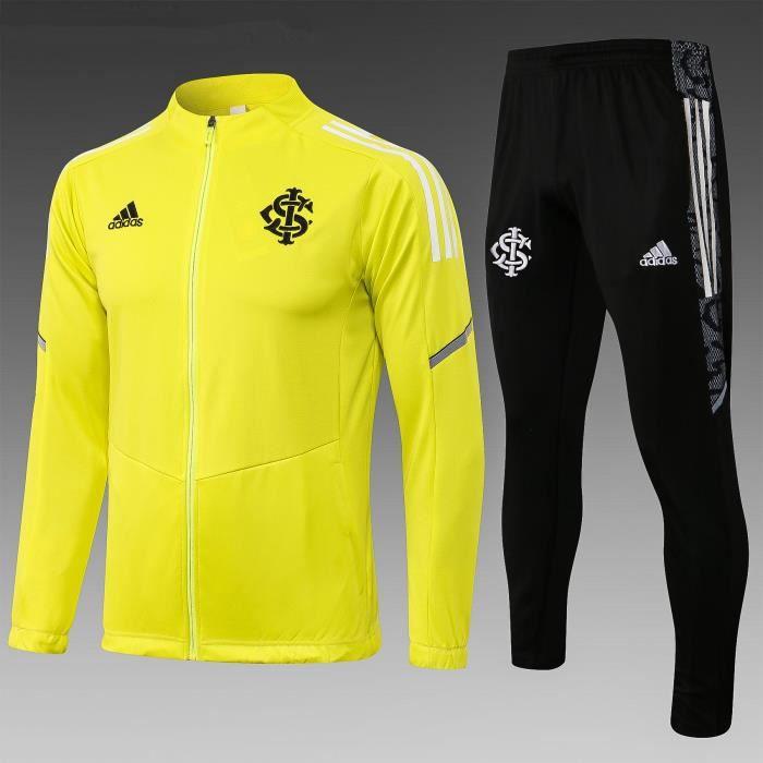 Survêtement de Foot Homme Veste 2021 2022 Nouveau Maillot de Football Pas Cher Survet Kit