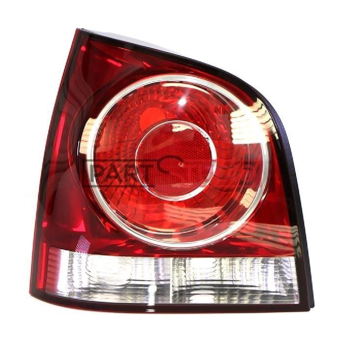 Optique, feu arrière gauche conducteur, Volkswagen Polo de 04/05 à 08/09