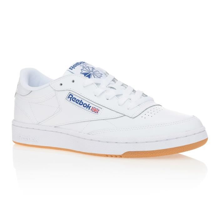REEBOK Baskets Club C85 Cuir - Homme
