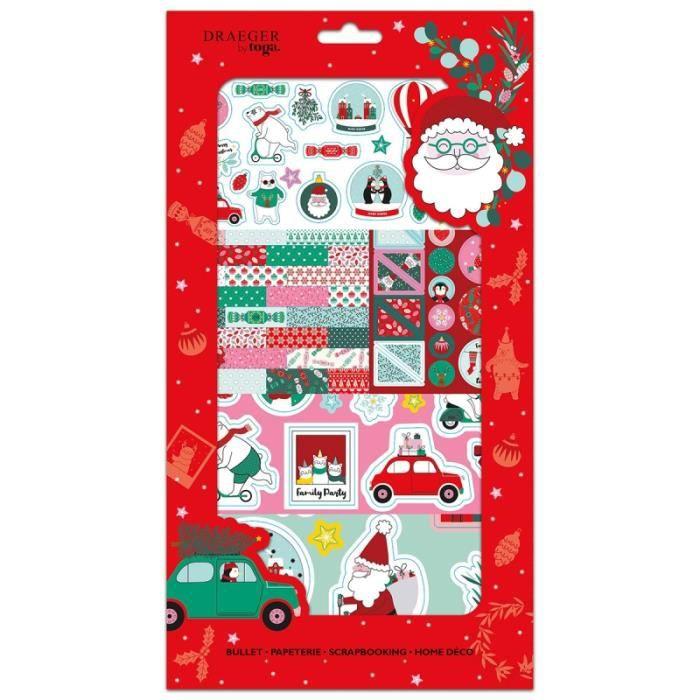 Kit Scrapbooking Stickers - Noël