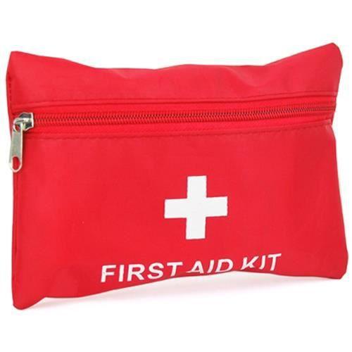 TRIXES Kits de premier secours pour les urgences en camping, dans la voiture, pendant les vacances, en déplacements