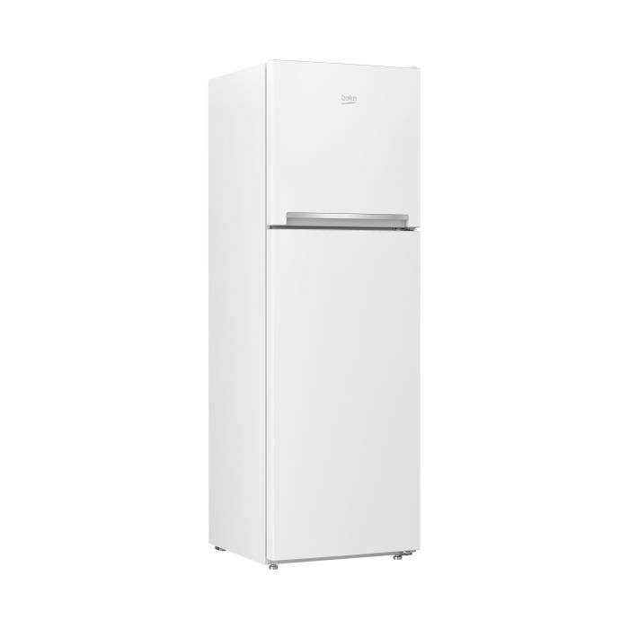 RÉFRIGÉRATEUR CLASSIQUE BEKO - RDNT270I20W - Réfrigérateur double porte -