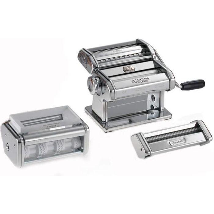 APPAREIL À PÂTES Marcato - coffret machine à pâtes + 2 accessoires
