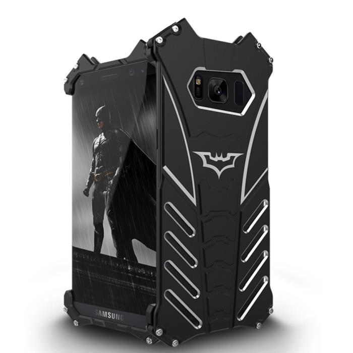 Coque Galaxy S8 Premium Armor Metal en Aluminium Cover Rigide de ...