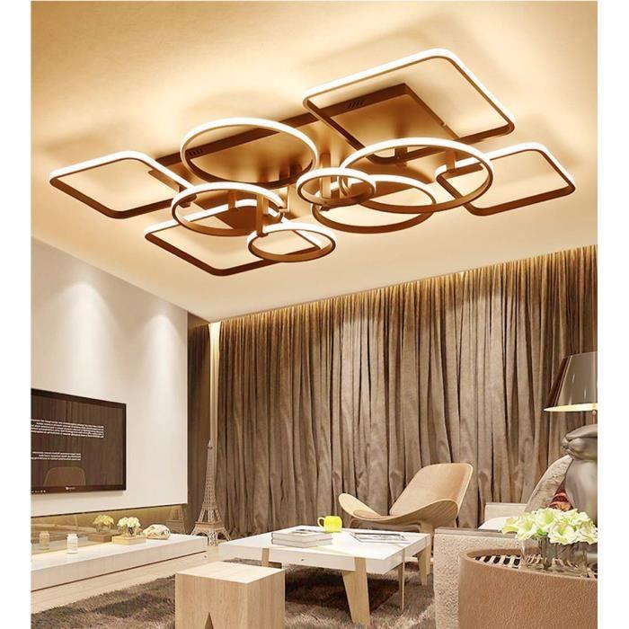 Lustres Rectangulaire Led Eclairage Cuisine Chambre Salon