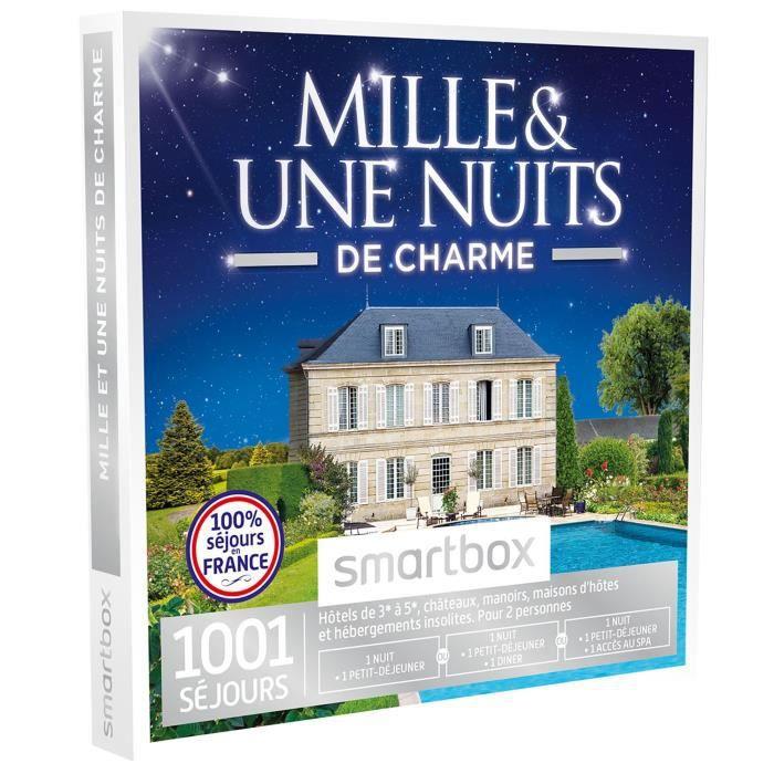 COFFRET SÉJOUR Coffret cadeau - Mille et une nuits de charme - Sm