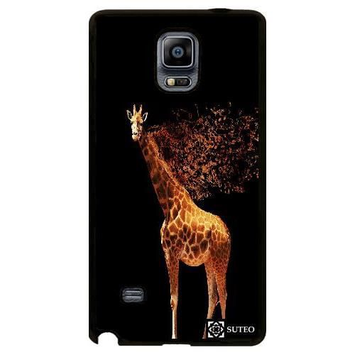 Coque samsung galaxy note 4 dessin d 39 une girafe for Prix d une girafe a poncer