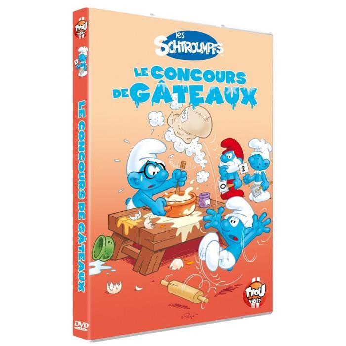 Les Schtroumpfs Le Concours De Gateaux Dvd En Dvd Dessin Anime Pas