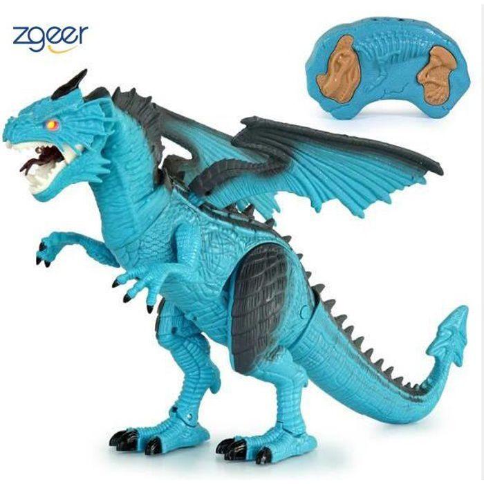 Electric Walking Dinosaure Jouet Avec Lumière Son tir jeux pour enfants