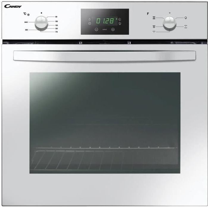CANDY FCS245W - Four électrique - Encastrable - Convection naturelle - Catalyse - 65L - A - Blanc
