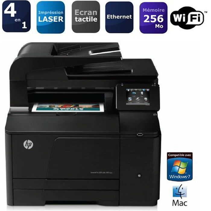 hp color laserjet pro m276nw prix pas cher cdiscount. Black Bedroom Furniture Sets. Home Design Ideas