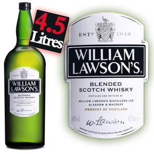 WHISKY BOURBON SCOTCH William Lawson's - Whisky - Jéroboam 4,5L - 40°