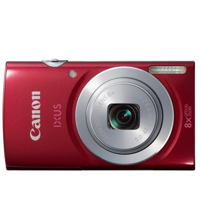 canon ixus 145 rouge ccd 16mp zoom 8x appareil photo num rique compact achat vente. Black Bedroom Furniture Sets. Home Design Ideas