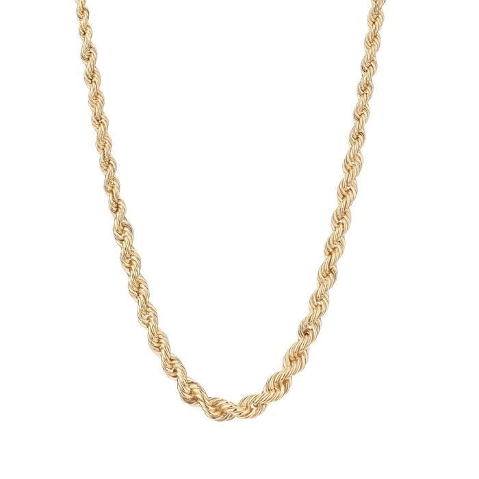 collier or femme pas cher
