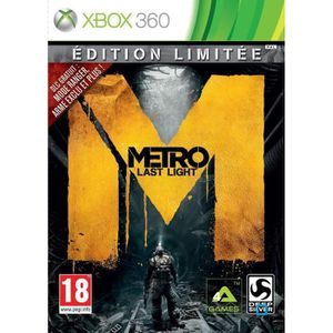 JEUX XBOX 360 Metro Last Light Edition Day One Jeu XBOX 360