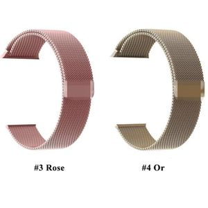 BRACELET DE MONTRE 1pcs Bracelet Boucle Magnétique Montre en Acier In