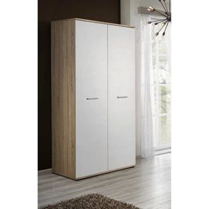 armoire penderie 90 cm achat vente armoire penderie 90. Black Bedroom Furniture Sets. Home Design Ideas