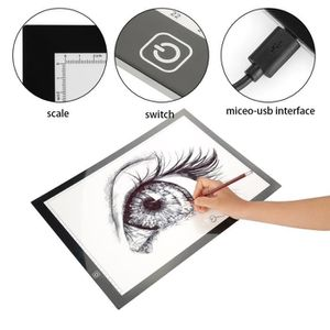TABLE A DESSIN Tablette Lumineuse a Dessin A3 LED Multifonction