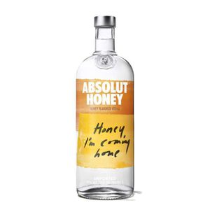 VODKA Absolut Honey 100 cl vodka miel