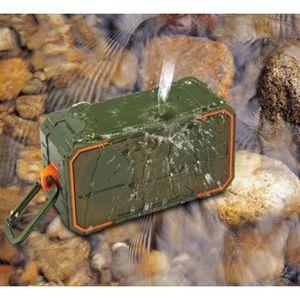 ENCEINTE NOMADE Enceinte Bluetooth 2*5W Portable V4.2 Haut-Parleur