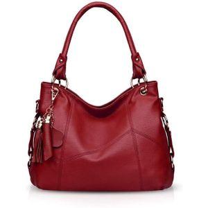 NICOLE /& DORIS Sacs /à main Femme sacs pour femmes Sacs /à poign/ée sup/érieure en crocodile Sac /à Bandouli/ère en cuir de PU marron
