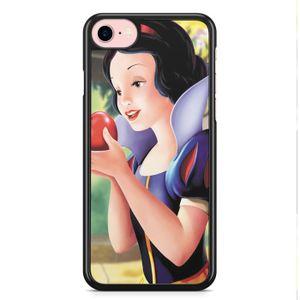 coque iphone xr blanche neige snow white disney po