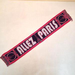DRAPEAU - BANDEROLE Echarpe PSG / Paris / Football / Livraison gratuit