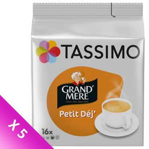 CAFÉ Tassimo Grand-mère Petit Dej café en dosettes x16