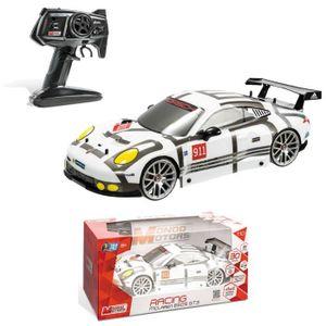 VOITURE - CAMION MONDO Voiture Radio Commandée Porsche 911 RSR - Ec