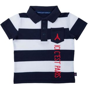 MAILLOT DE FOOTBALL Polo bébé garçon PSG - Collection officielle PARIS