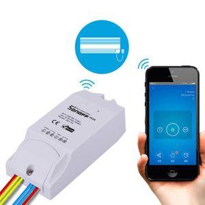 CAPTEUR D'INTERRUPTEUR Interrupteur intelligent sans fil Sonoff Wi-Fi Tél