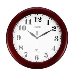 HORLOGE - PENDULE Pendules murales ø32cm silencieux horloge murale r