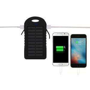 BATTERIE EXTERNE PLATYNE Batterie externe solaire - 5000 mAh