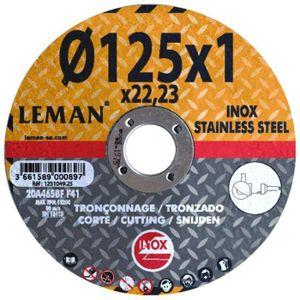 Lot 5  Disques à tronconner métal doux et inox Werckmann 115 x 1,2 x 22,23 mm