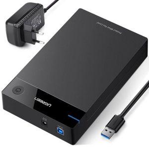 DISQUE DUR EXTERNE UGREEN USB 3.0 Boîtier Externe 3.5 Pouces Disque D