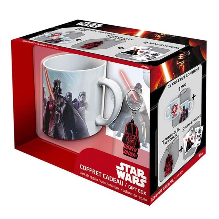 Pack Mug + Porte-clés + Sticker Star Wars - Vador - ABYstyle