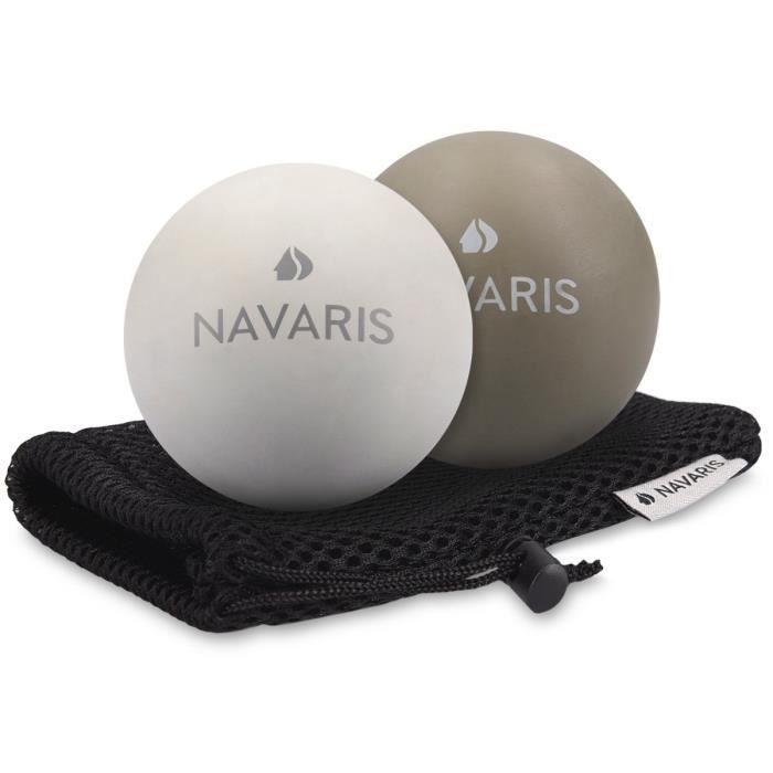 Medecine Ball Boule de massage Ensemble de 2 fascia Massage - auto-massage fascia balle de crosse balle Trigger Point - Pied ZON3X