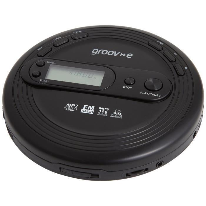 Groove GVPS210 Lecteur CD Portable