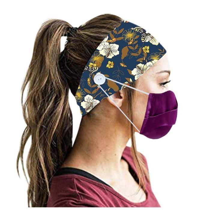 【HARNAIS DE TETE】Hommes Femmes Bandeau Bandeau Running Yoga Élastique Bandeau Cheveux Accessoires De Cheveux - Multicolore64