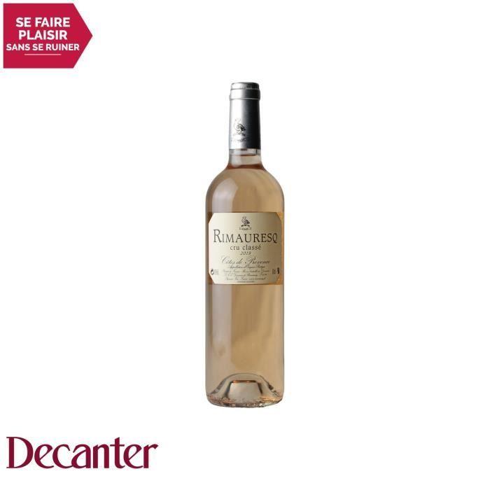 Côtes de Provence Cuvée Classique de Rimauresq Cru Classé Rosé 2019 - 75cl - Domaine de Rimauresq - Vin AOC Rosé de Provence -