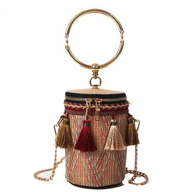 Boisson tasse forme Mini sac à bandoulière femmes unique intérieur poche fermeture éclair sac personnalité utiliser pail ES10966