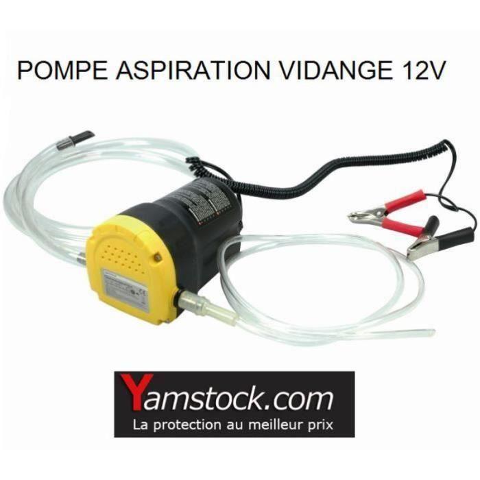 HG15913-Pompe vidange d'huile moteur par aspiration 12V