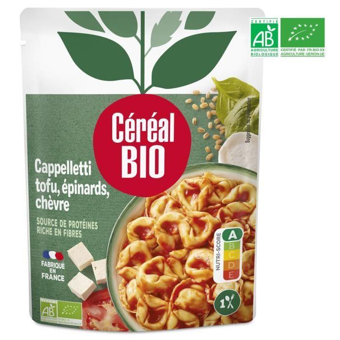 Cappelettis farcis au tofu 220g Cereal Bio