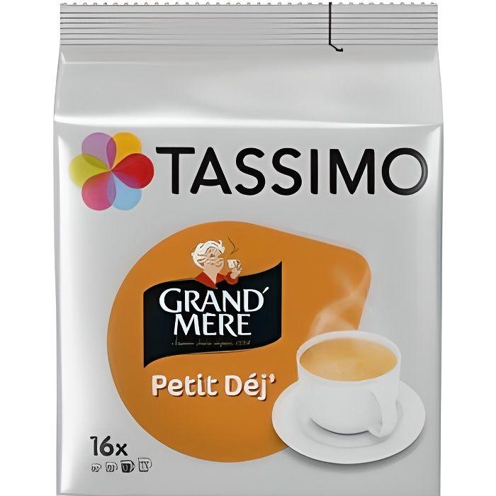 Tassimo Grand-mère Petit Dej café en dosettes x16 -133g