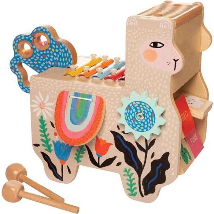 Manhattan Toy - Lili Lama musical en bois - MANHATTAN TOY
