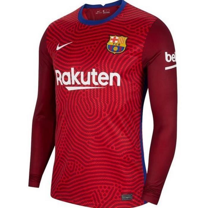 Nouveau Maillot Nike Enfant Gardien de But FC Barcelone Domicile Saison 2020-2021