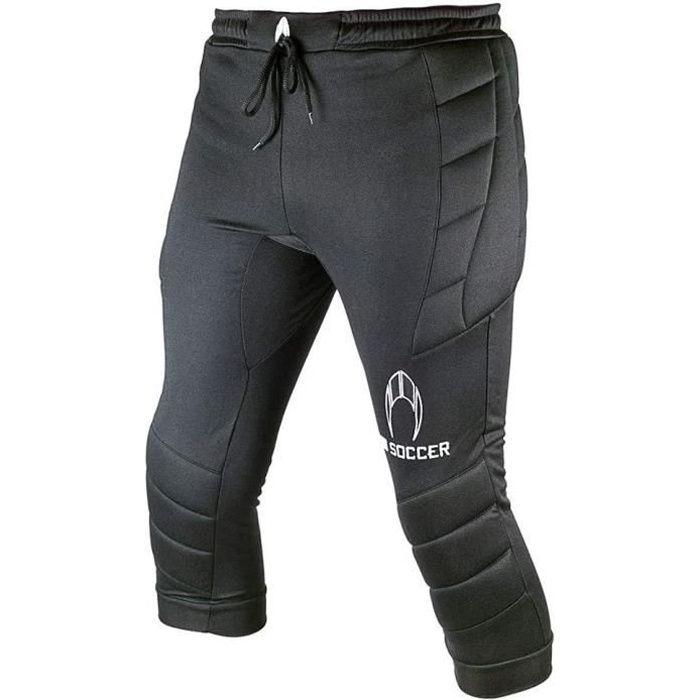HO Soccer Pantalon Gardien de But Enfant Trousers 3/4 Logo Noir 6A
